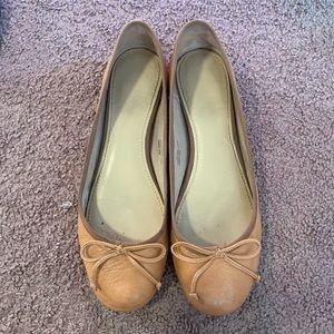 Tan Ballet Flats